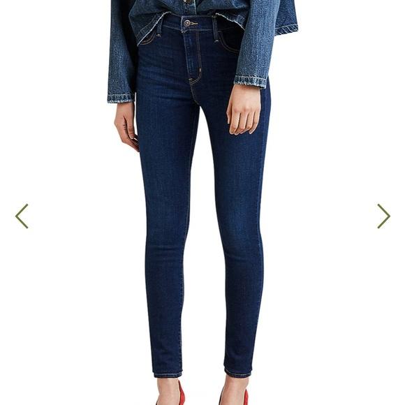 Levi 710 Super Skinny Jeans.